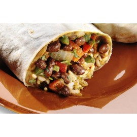 VEGETABLE BURRITO