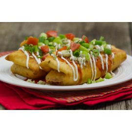 CHIMICHANGA DE POLLO