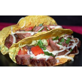 ROASTED BEEF TACOS